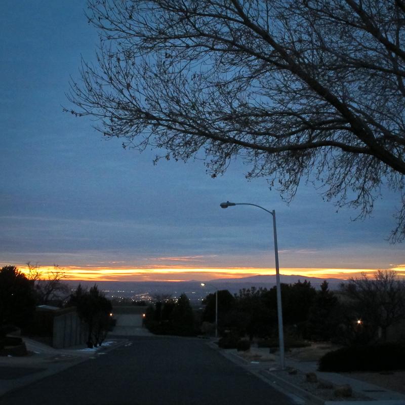abq sunset-2